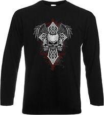 Gothic Damen-T-Shirts mit Rundhals
