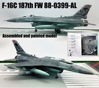 Easy model US F-16C Fighting Falcon 187th 1/72 diecast plane aircraft