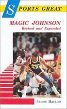Sports Great Magic Johnson  (ExLib) by James Haskins FREE SHIPPING