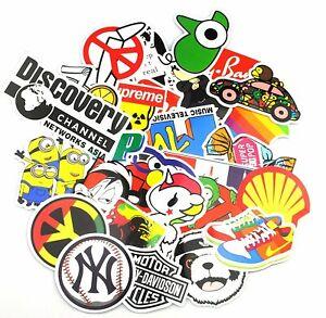 200X Random PVC Stickers Graffiti Sticker Cool Vinyl Decal for Laptop Skatebord