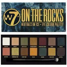W7 ON THE ROCKS Neutrals On Ice Eye Colour 14 Pce Palette Matt Shimmer