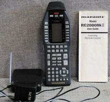 Marantz RC2000MKII RC2000MK2 with RF remote extender & manual