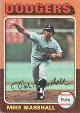 1975 Topps Mini #330 Mike Marshall LA Dodgers (2018-0770)