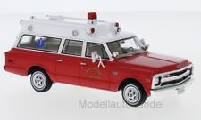 Chevrolet Suburban Ambulance  Hillside Fire Dep. 1970  NEO 1:43 47246   *NEW*