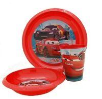 Baby Kinder Geschirr Set Teller Schale Becher Disney Cars ** NEU & OVP **