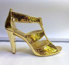 Sandals Wet look, Shiny Heels for Women