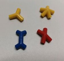 Red X-BALL OF WHACKS - 2 PIECES REPLACEMENT -ROGER von OECH NEW UNUSED.