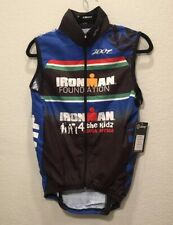 Zoot Men's Small Full Zip Wind Vest Ironman Foundation