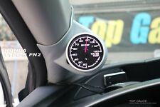 A Pillar Gauge Pod, 52mm or 60mm, fits Honda Civic FN2 Type R【TG-tech Auto】