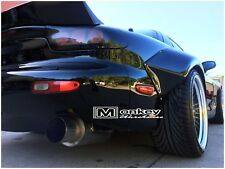 NEW FD RX7  ROCKET BUNNY REAR BOOT LID SPOILER DRIFT WING, MADE WITH BOTTOM BASE