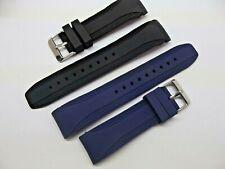 cinturini caucciù tipo nautica ansa curva rinforzata 20 22 24 mm watch toqualità