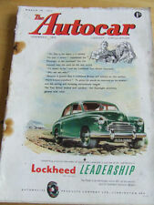 March Autocar Cars, Pre-1960 Magazines in English
