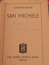 ELISABETTA WERNER - SAN MICHELE 1941