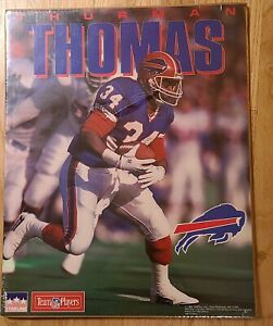 Vintage Thurman Thomas Buffalo Bills Starline 16 x 20 in poster - SEALED