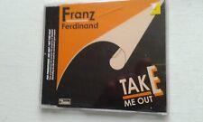 FRANZ FERDINAND TAKE ME OUT CD SINGLE RARE PROMO VERSION 1 TRACK