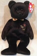 "Ty Beanie Babies ""The End"" Bear 1999 With RARE Tag Errors Mint Condition"