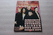 Metal Hammer 4/1997 Aerosmith, Machine Head, Entombed, Sepultura, Tuff Enuff,
