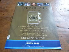 DREAM THEATER - Publicité de magazine / Advert SCORE !!!!!!!!!!