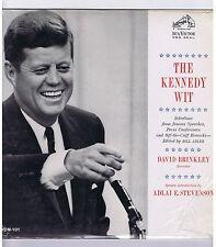 LP JOHN F. KENNEDY WIT DAVID BRINKLEY (NARRATOR)