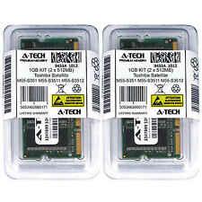 1GB KIT 2 x 512MB Toshiba Satellite M55-S351 M55-S3511 M55-S3512 Ram Memory