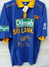 Nwt Trendy Club Sri Lanka Cricket Jersey Dilmah Cyclone's Finest Tea Size Xxl