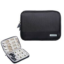 Portable Electronic Accessories USB Cable Organizer Bag Case Drive Travel BLA MO