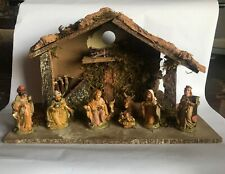 Vtg Religious Christmas Fontanini Decorative Display Set Made in Italy Figure