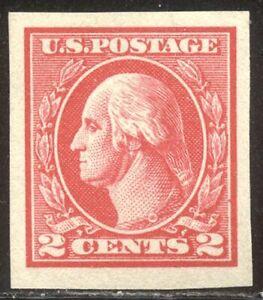 U.S. #533 CHOICE Mint XF NH - 2c Carmine, Type V ($175)