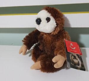 Aurora World Plush SLOTH 13CM - Stuffed Animal Toy SAN DIEGO SAFARI PARK! BEANS