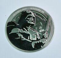2020 - Niue Star Wars Darth Vader 1 oz .999 Fine Silver Coin BU - in capsule