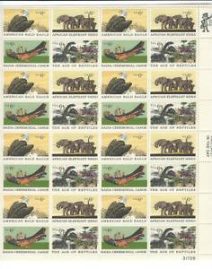 Scott #1387/90....6 Cent....Natural History....Sheet With 32 Stamps