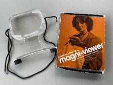 Vintage Bausch & Lomb Magni-Viewer Around-the-Neck Magnifier w/ Box