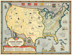 End of 1492-1783 Revolutionary War Poster Wall Art Map Artwork Picture Print