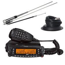 TYT TH-9800 Car Mobile Radio Walkie Talkie Quad Band Truck 50W VHF/UHF Whole Set