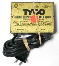 Vintage TYCO Train Transformer Adjustable 6V to 18V DC & 20V AC for Accessories