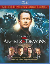 Angels & Demons (Blu-ray Disc, 2009, 2-Disc Set, Theatrical  Extended Editions)