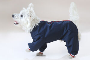 FACTORY SECOND - TROUSERSUIT NYLON DOG COAT RAINCOAT ALL IN ONE SUIT
