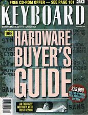 1995 KEYBOARD Magazine: Hardware Guide: Roland DM-800 80, AKAI DR16 DR8 E-mu