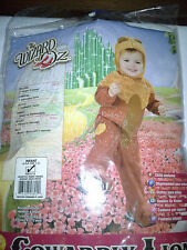 New Infant Size 1-2 Cowardly Lion Costume 6-12 Months