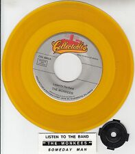 """THE MONKEES  Listen To The Band & Someday Man YELLOW VINYL 7"""" 45 rpm record NEW"""