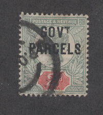"""Great Britain SG O70a used 1891 2p GOV'T PARCELS ovpt, without Dot Under """"T"""""""