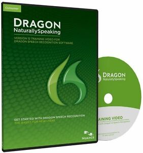 Dragon Naturally Speaking version 12 training video dragon speech recognition C1