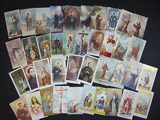 Lot of 40 Vintage Catholic HOLY CARDS Saints pictures Germany Italy