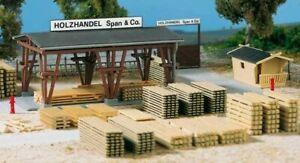 Auhagen H0 11353 Timber Trade Span & Co