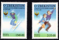 2006. Uzbekistan. Olympic Games, Turin. Set. MNH. Sc.436-437