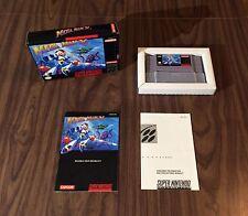 Mega Man X (Super Nintendo, SNES) Complete - Tested - Authentic