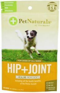 Hip + Joint for Dogs by Pet Naturals of Vermont, 60 chews