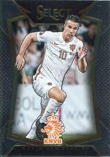 Panini Select Soccer 2015 Base Card #100 Robin van Persie - Netherlands
