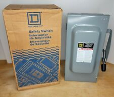 Square D General Duty Safety Switch D223n Series F100 Amp 240 Volt Disconnect