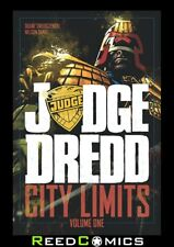JUDGE DREDD CITY LIMITS GRAPHIC NOVEL New Paperback Collects (2012) #1-12